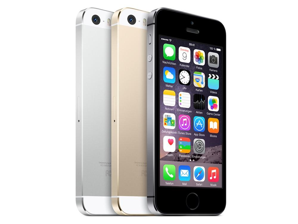 apple iphone 5s smartphone 16gb 4 zoll silber elektronik. Black Bedroom Furniture Sets. Home Design Ideas