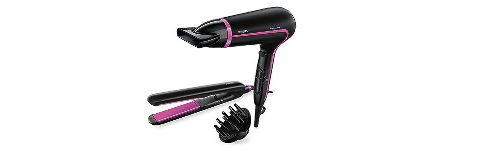DryCare Advanced- Secador HP8640/60. Protege tu pelo mientras lo ...