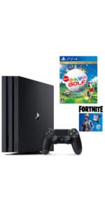 【プライムデー販売】PlayStation4 Pro フォートナイト ネオヴァーサバンドル + NewみんなのGOLF セット
