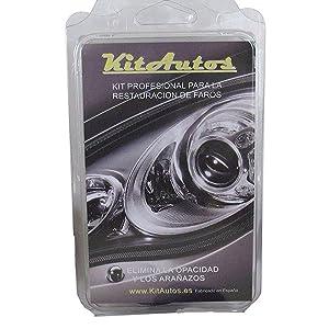 KITAUTOS KF75MM Kit Pulido de Faros, de Material plástico: Amazon ...