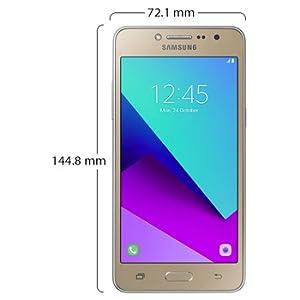 Samsung Grand Prime Plus Dual Sim - 8GB, 1 5GB RAM, 4G LTE, Gold