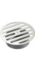 SANEI 排水部品 ワントラップ皿 呼び100 ステンレス PH50F-100