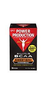 グリコ パワープロダクション おいしいアミノ酸 BCAAスティックパウダー アミノ酸 グレープフルーツ風味 1本(4.4g) 10本入り