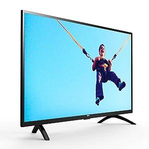Philips 40Inch Full Hd Ultra Slim Led Tv With Digital Crystal Clear 40Pft5063/56 - Black