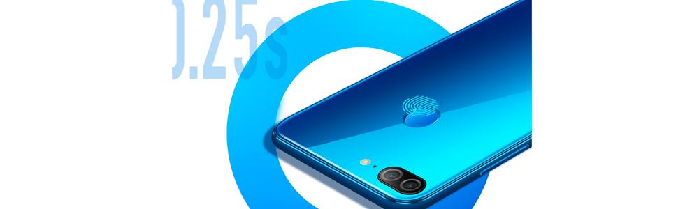 Honor 9 Lite Dual SIM - 32GB, 3GB RAM, 4G LTE, Sapphire Blue