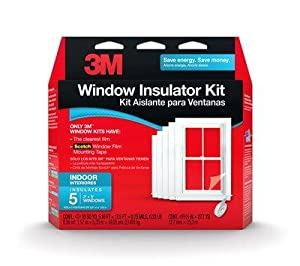 3m 2141bw 6 Indoor Window Insulator Kit 5 Window