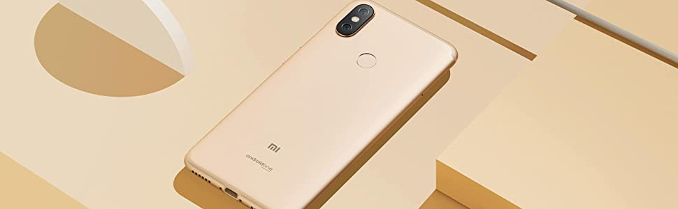 Xiaomi A2 - Smartphone Dual Sim, 4 GB Ram, 64 GB ROM, azul (EU ...