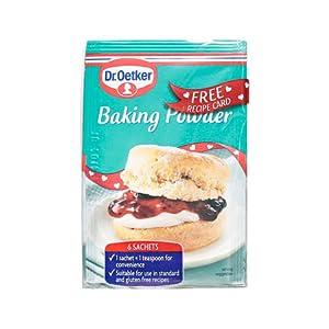 Dr. Oetker Baking Powder - 6 Sachets x 5g