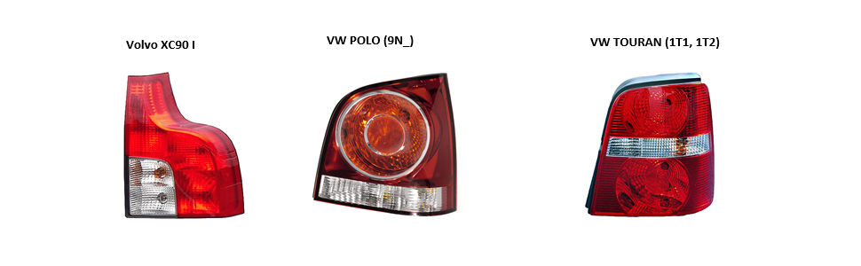 mit Lampenträger rechts HELLA 2SD 011 715-061 Heckleuchte 12V LED