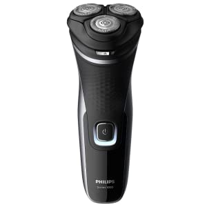 Philips Serie 1000 S1332/41 - Afeitadora eléctrica para hombre con cuchillas PowerCut, cortapatillas desplegable ...