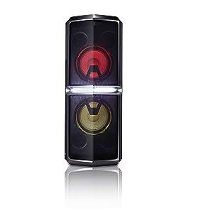 LG FH6 - Altavoz inalámbrico Hi-Fi (Bluetooth, radio FM y USB grabador) Color negro: Amazon.es: Electrónica