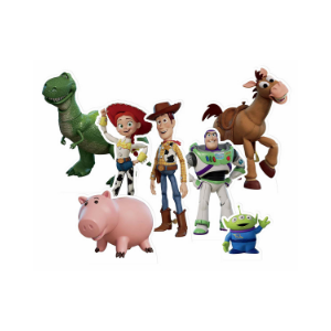 toy story table toppers pack contents