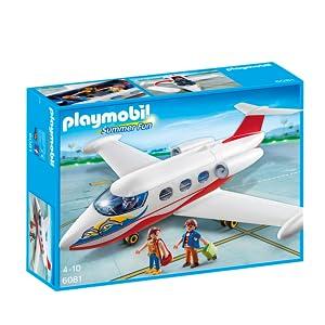 PLAYMOBIL - Avión de Vacaciones (60810): Amazon.es: Juguetes y juegos