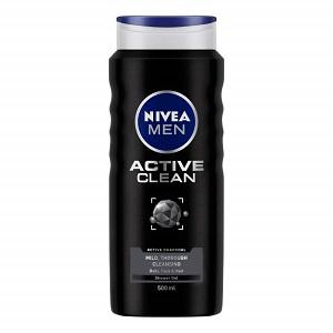 NIVEA Shower Gel, Active Clean Body Wash
