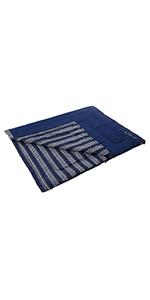寝袋 フリースフットアドベンチャースリーピングバック C5 使用可能温度5度 封筒型