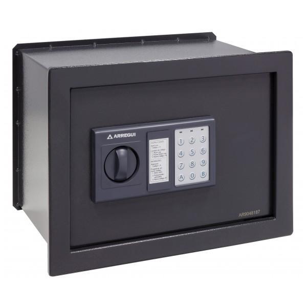 Arregui W25EB - Caja fuerte de empotrar electrónica con pomo