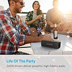 Anker Soundcore Select Bluetooth Speaker with Loud Stereo Sound, Rich Bass, 24-Hour Playtime