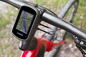 Garmin eTrex Touch 35 colocado en la bici