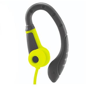 Wicked Audio Fight Wired In Ear Headphones, Black/Green