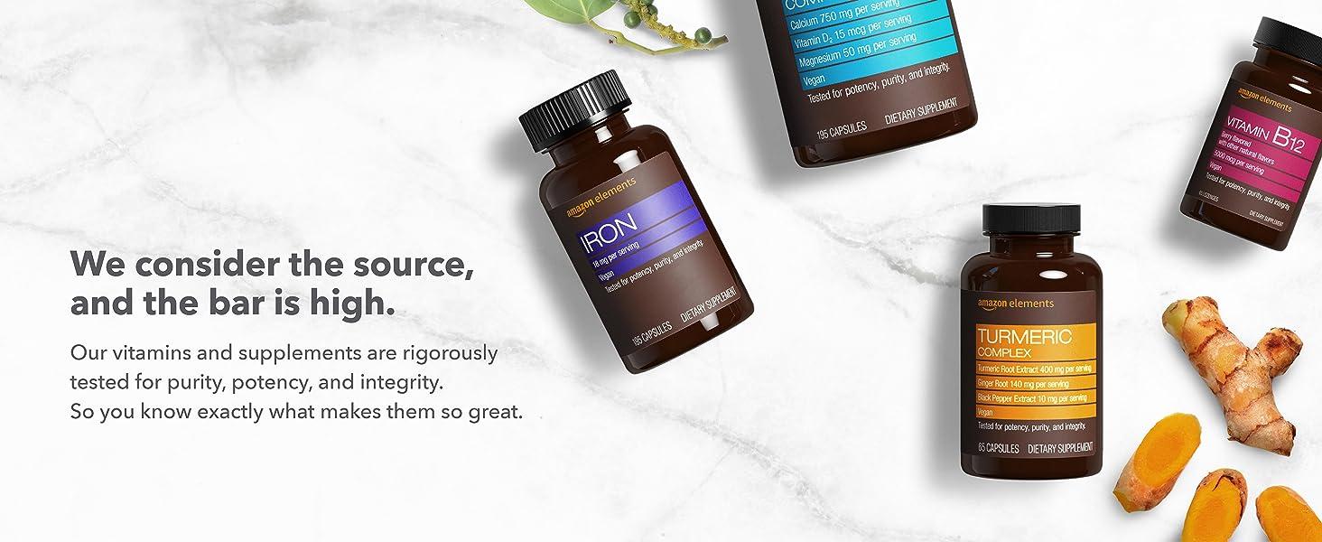Vitamin K2, vegan, K2 capsules, vitamins, supplements, Amazon Elements, daily vitamins