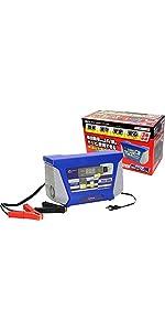 メルテック バッテリー 充電器 DC12V DC24V バッテリー診断機能付 長期保証3年