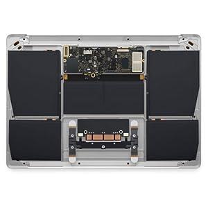 Apple MacBook Laptop Intel Core M Space Gray, Early 2015, MJY42