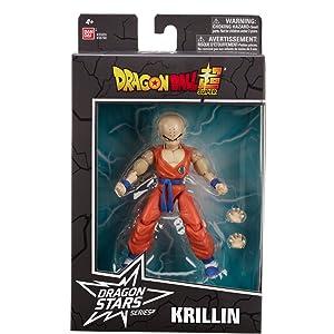BANDAI DRAGON BALL SUPER DRAGON STARS KRILLIN ACTION FIGURE SERIES 14