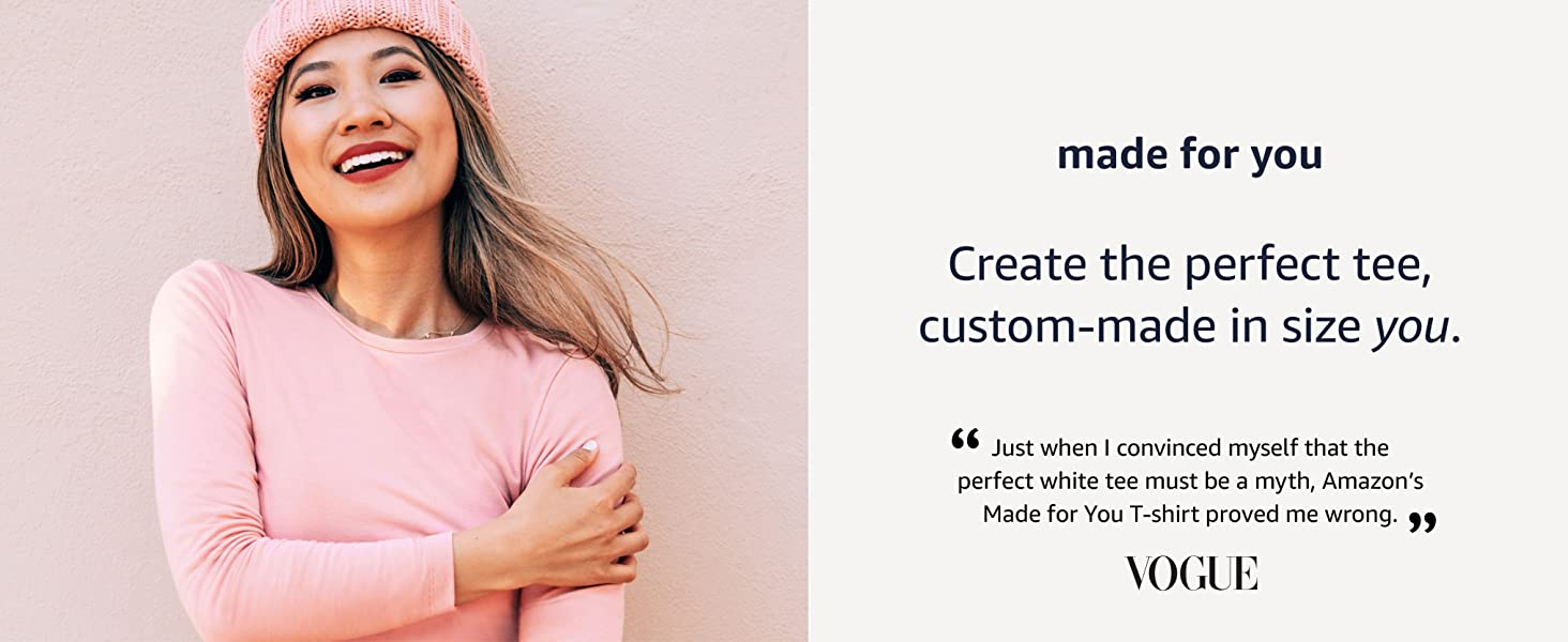 Made for you: Create your perfect t-shirt