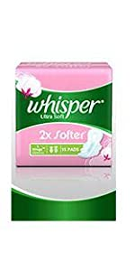 Buy Whisper Ultra Soft Sanitary Pads XL (15 Count) Online at Low ...