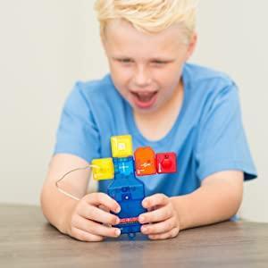 lego smart snap circuits stem science blocks building system alarm door kids toy kit electricity