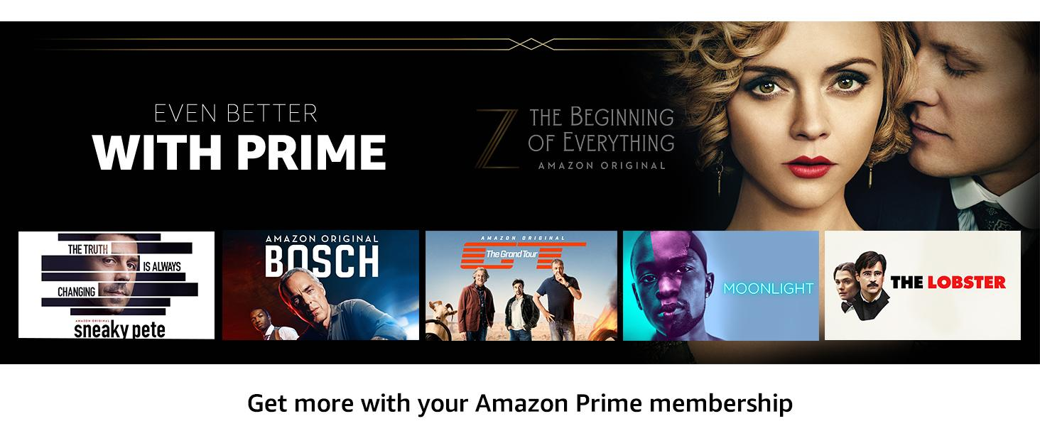 Get more content with your Amazon Prime membership.