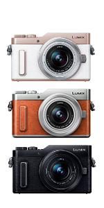 Panasonic ミラーレス一眼カメラ ルミックス GF90 ダブルレンズキット 標準ズームレンズ/単焦点レンズ付属 オレンジ DC-GF90W-D