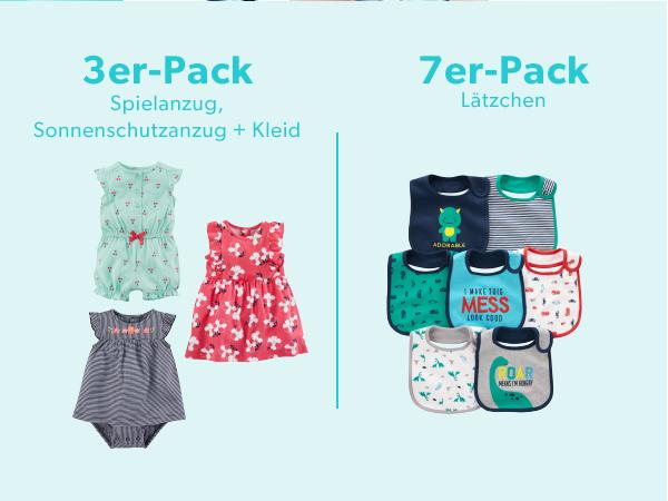 Simple Joys by Carters Baby M/ädchen 2er-Pack Jumpsuits