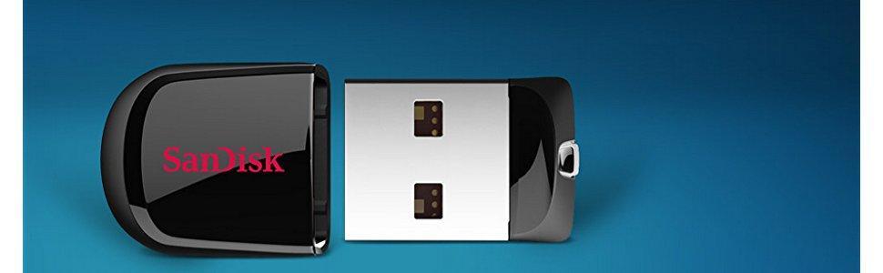 SanDisk Cruzer Fit Memoria USB de 32 GB: Amazon.es: Informática