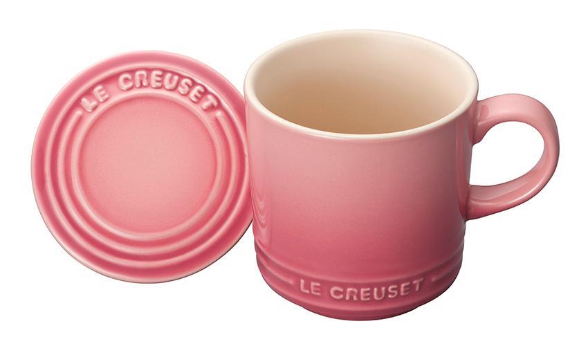 Le Creuset マグカップ(フタ付き)