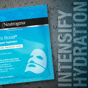 Neutrogena The Super Hydrator Hydro Boost Hydrogel Recovery Mask
