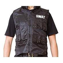 MENコス スワット SWAT コスプレ ユニセックス 4點セット