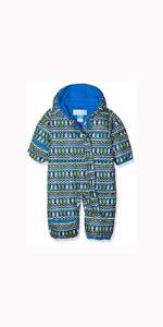 Azul Critter Columbia Mono para beb/é Super Blue Snuggly Bunny Bunting Talla 12//18 Meses