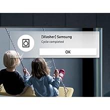 Samsung 65 Inch 4K Smart TV Notification