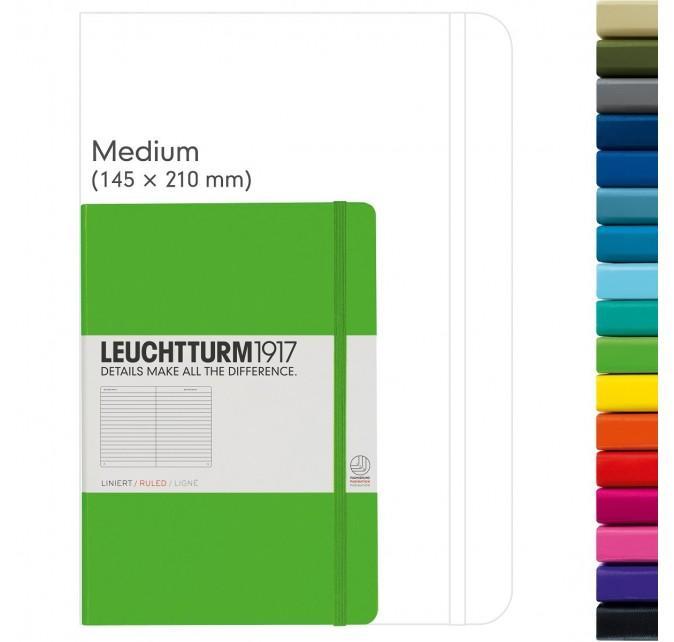 Leuchtturm 1917 338728 - Cuaderno (A5, 80g/qm), color lima