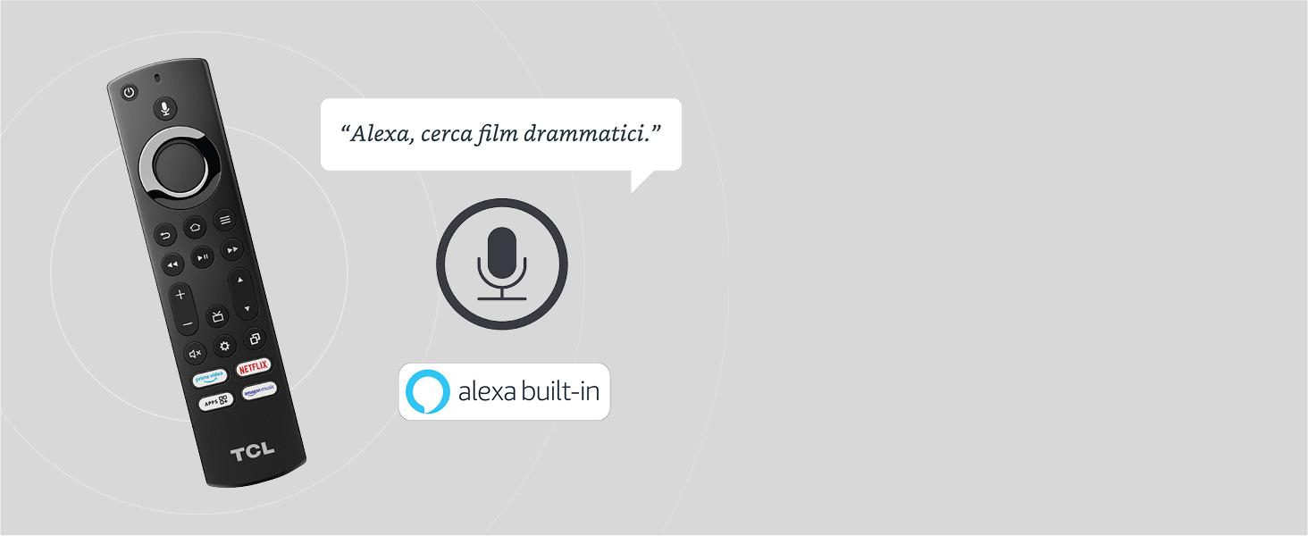 TELECOMANDO VOCALE ALEXA