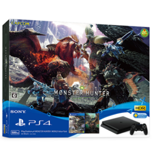 PlayStation 4 MONSTER HUNTER: WORLD Value Pack