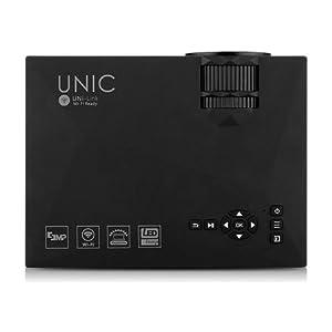 Unic Portable 3D Projector - UC46, Black