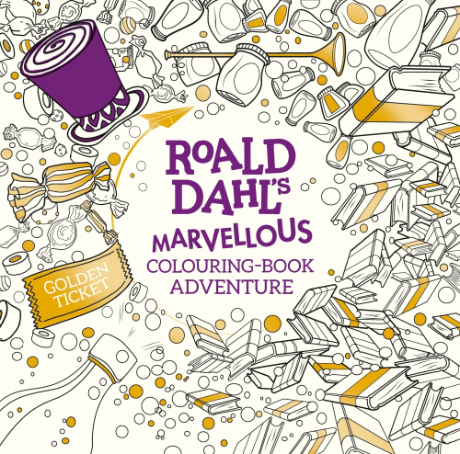 Colouring Book In Pictures Roald Dahls Marvellous ColouringBook ...