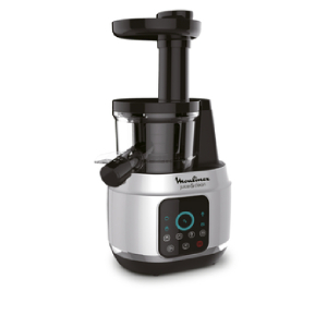 MOULINEX Juice & Clean Powerful Slow Juicer with 4 Programs