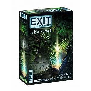 Devir - Exit: La isla olvidada, Ed. Español (BGEXIT5): Amazon.es ...