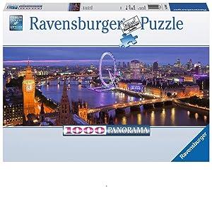 Puzzle 2000 Teile Spiel Deutsch 2017 Geduldspiel Stimmungsvolles London