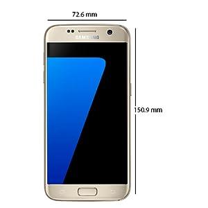 Samsung Galaxy S7 Edge - 32GB, 4GB RAM, 4G LTE, Gold: Amazon com