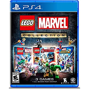 Amazon Com Lego Marvel Collection Playstation 4 Whv Games Video Games