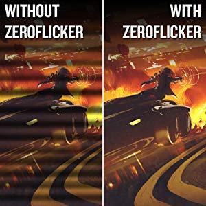 zero flicker